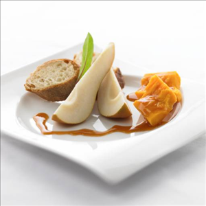 Saputo Specialty Cheese | Pear Cider Reduction with Aged
